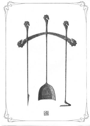 originál krbové nářadí