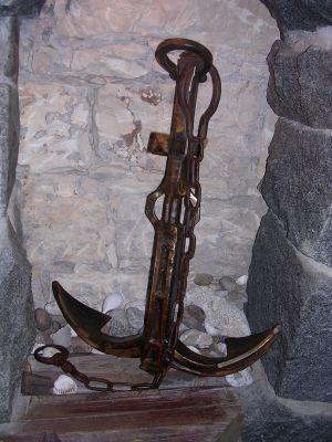 kovaná  kotva