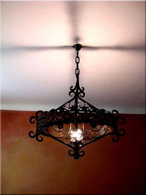 kované osvětlení
