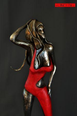 kovaná plastika RED